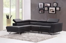 Clean Leatherette Couch